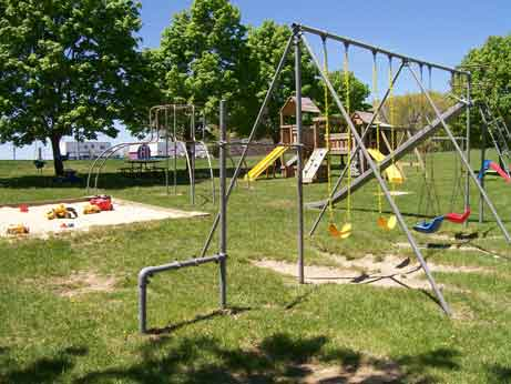Playground Area at Lake Raystown Family Resort